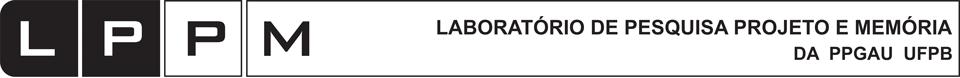 LPPM Laboratório de Pesquisa Projeto e Memória logo